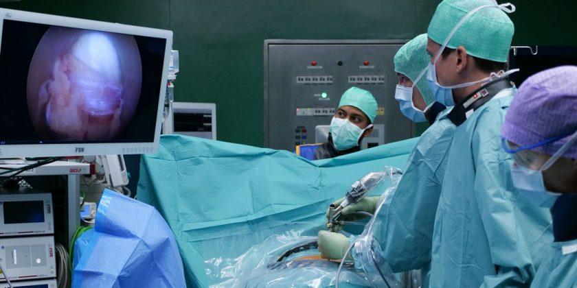 Lumbaler Bandscheibenvorfall: eine innovative chirurgische Technik im Spital Sitten